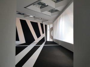 LehmbruckMuseum Kunstausstellung Frauke Dannert. Verlegearbeit Novikov Sergey Raumperfekt